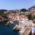 Walking the walls of King's Landing (Dubrovnik, Croatia)
